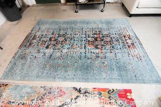 Oriental Rug, Safavieh Monaco, Color Blue Multi, Made in Turkey