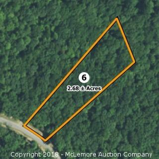 2.68± Acre Building Lot in Eagle Bluff Estates