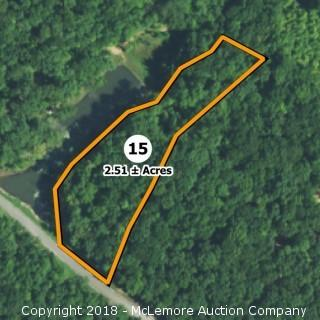 2.51± Acre Building Lot in Eagle Bluff Estates