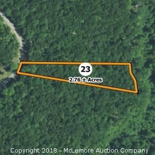 2.76± Acre Building Lot in Eagle Bluff Estates