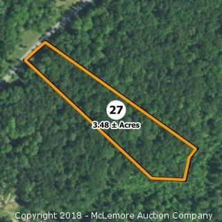 3.48± Acre Building Lot in Eagle Bluff Estates