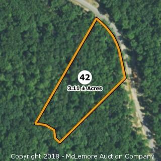 3.11± Acre Building Lot in Eagle Bluff Estates - Water Tap Included