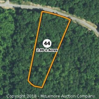 2.99± Acre Building Lot in Eagle Bluff Estates - Water Tap Included
