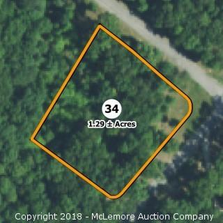 1.29± Acre Building Lot in Eagle Bluff Estates - Water Tap Included