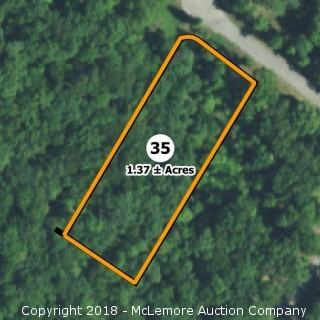 1.37± Acre Building Lot in Eagle Bluff Estates - Water Tap Included