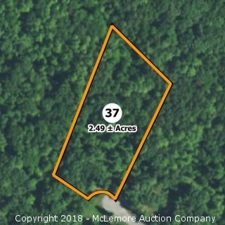 2.49± Acre Building Lot in Eagle Bluff Estates - Water Tap Included