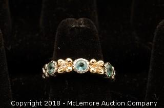 Barbara Bixby Apatite Flower Ring