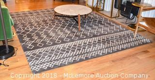 Machine Loomed Area Rug