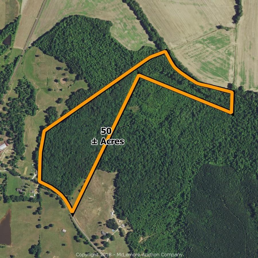 50± Acres with $120,000+ in Hardwood Timber near Saltillo, TN