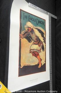 The Eagle Dancer by Gerald Cassidy, La Fonda Collection, Santa Fe, NM