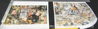 2 Music City Prints by T Allen