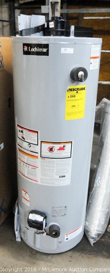 Lochinvar Water Heater - Water Ionizer