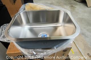 Vigo Industries VG2318 Single Bowl Kitchen Stainless Steel Undermount Sink