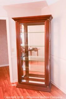 Wood and Mirror China/Curio Cabinet