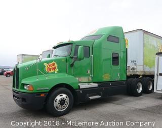 Kenworth Tractor Trailer Truck