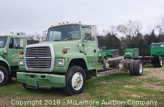 Ford L8000 Diesel Work Truck
