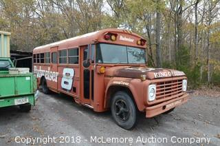 Ford Converted School Bus