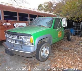 Chevrolet Work Truck Parts Truck