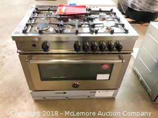 "Bertazzoni 36"" Gas  5 Burner Range Model MAS365GASXE/01"