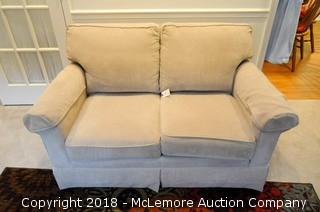 Upholstered Love Seat by Smith Brothers of Berne Indiana