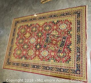 Shaw Living, Kathy Ireland Collection Oriental Rug, Karabagh Currant