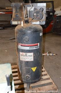 Sanborn Single Stage Industrial Air Compressor