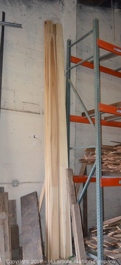 McLemore Auction Company - Auction: Forklift, Reclaimed Wood