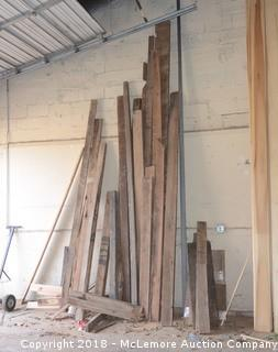 Jumbo Assortment of Reclaimed Wood Pieces