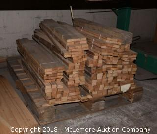 Pallet of Reclaimed Wood Planks