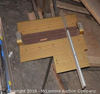 Table Saw Cross Cut Sled