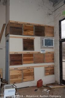 Assortment of Wood Finish Sample Panels
