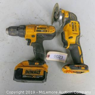 Cordless Tools by Dewalt