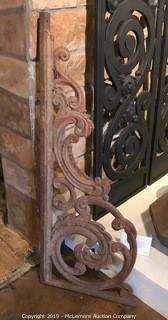 Antique Cast Iron Bracket