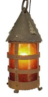 Antique Arts and Crafts Style Lantern