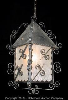 Vintage French Lantern