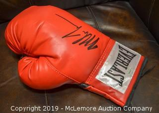 Mike Tyson Signed Boxing Glove with Certification