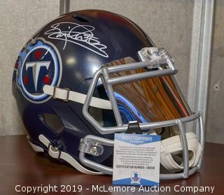 Derrick Henry Signed Tennessee Titans Speed Helmet with Beckett Certification