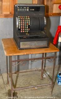 Ohmer Cash Register and Table