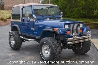 1991 Jeep Wrangler Limited Edition V8