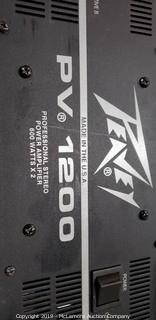 Peavey 1200 Professional Stereo Power Amplifier
