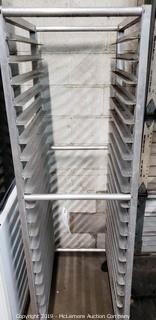 Bakery rack and storage rack frame