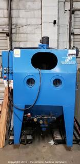 Commercial Abrasive Blasting Cabinet By Cyclo-Blast Dry Honer Co.