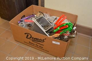 Box of Assorted Utensils