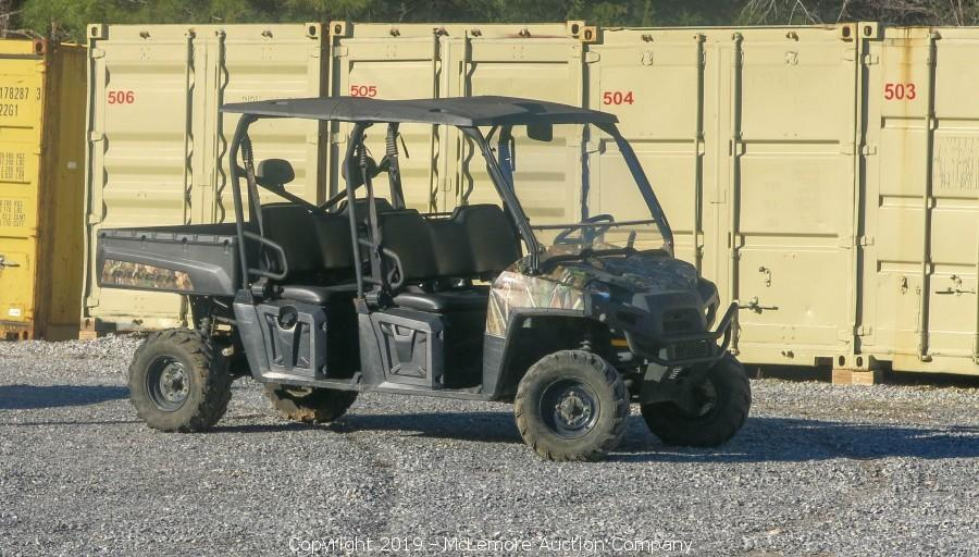 McLemore Auction Company - Auction: Surplus Equipment from