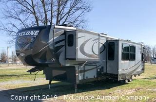 2016 Heartland Cyclone 4200 Series Toy Hauler 5th Wheel RV