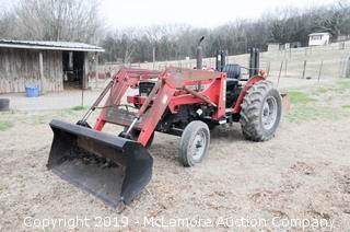 Massey Ferguson 251XE Tractor with 232 Front End Loader