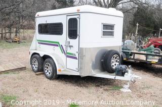 Gore Bumper Pull 4 Section Livestock Trailer