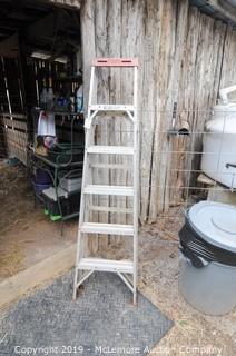 Werner 6' Aluminum Step Ladder