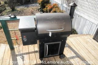 Traeger Wood Pellet Grill with Cover
