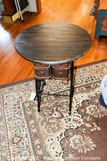 Sewing Cabinet Round Table